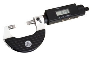 Digital Micrometer 0701 Measuring Narrow Recesses